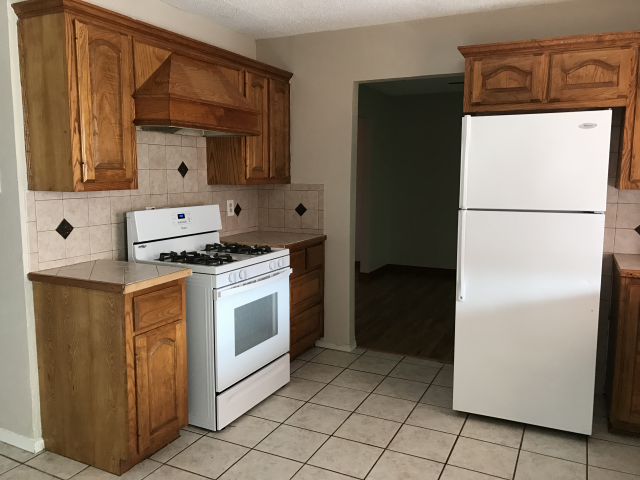 after kitchen home renovation