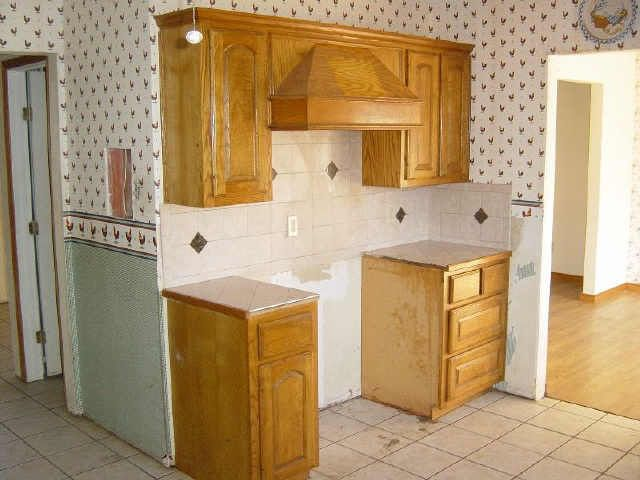 before kitchen home renovation